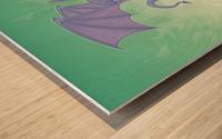Pitchy Wood print