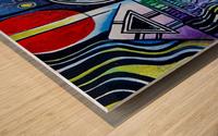 Love 1 Wood print