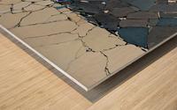 Open fields - Contemporary Art Impression sur bois