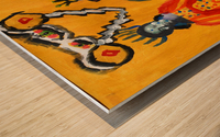 Klimt inspiration. Clyde O. Wood print