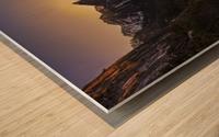 Yosemite Firefall Wood print