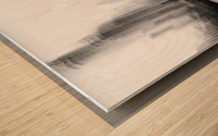 the terrace Wood print