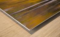 Abstract Fall Wood print
