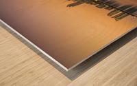 Doha reflections Wood print