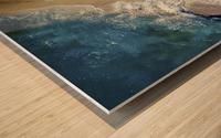 hi summer! Wood print
