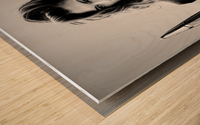 Jamie and the T-Bird Wood print