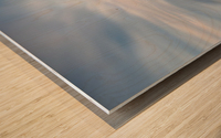 The calm Wood print