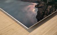 Braies reflections Wood print