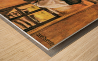 Lunch by Albin Egger-Lienz Wood print