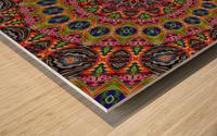 Cherga Mandala I Wood print