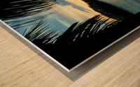 Sunset11 Wood print