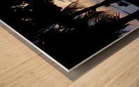 Sunset16 Wood print