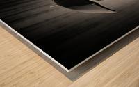 Black Rain Wood print