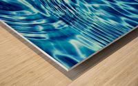 WATER CIRCLES Wood print