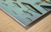 Islands Wood print