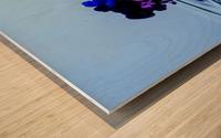 drizzles Wood print