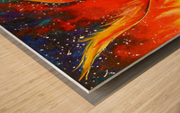 Phoenix bird Wood print