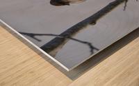 Bundled Up Wood print