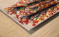 Fall Longhorn. Stephen R Wood print