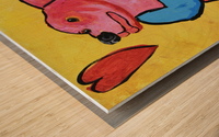 Happy Dog. Jana A. Wood print