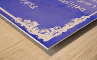 Psalm 37 4 8BL Wood print