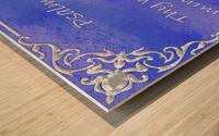 Psalm 119 11 1BL Wood print