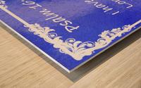 Psalm 16 8 8BL Wood print