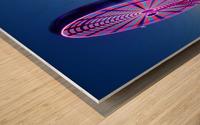 La Grande Roue Wood print