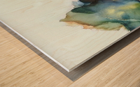Tip of the Iceberg Wood print