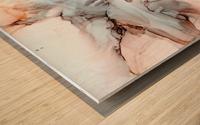 Desert Bluff Wood print