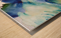 Heart of the Ocean Wood print