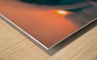 Giant surf Wood print