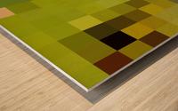 KIWI MOSAIC PATTERN Wood print