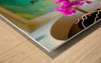 Sea Island Solarium Wood print