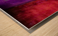 Dualities Wood print