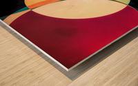 Composition Planétaire Wood print