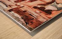 The men by Albin Egger-Lienz Wood print