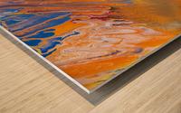 METEORITE Wood print