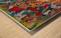 EXALTATION Wood print