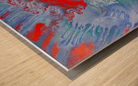 AGAINST THE REEF Wood print