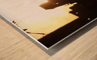 Montreal Sunset Wood print