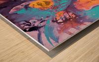 Liquid series 19 Wood print