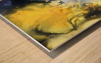 Liquid series 14 Wood print