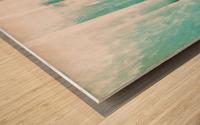 Composition Patinée Wood print