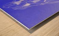 Celestial Pointe Shoes Wood print