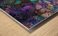 Paw Prints Soft Colours Wood print