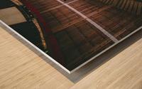 Wall of death Harley Davidson Wood print