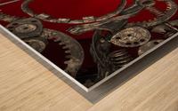 Mechanical Love Wood print