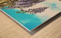 Wisteria Cascade Wood print