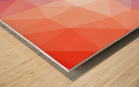 Abstract art patterns low poly polygon 3D backgrounds, textures, and vectors (10) Wood print